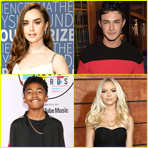 Lily Collins, Gavin Leatherwood, Jordyn Jones & More Participate in 10 Year Challenge on Social Media