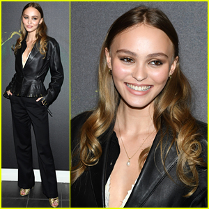 Lily-Rose Depp Premieres 'Savage' in Paris!