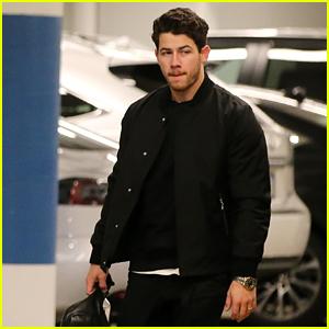 Nick Jonas Attends Meeting in LA After Honeymoon With Priyanka Chopra