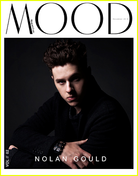 Nolan Gould Is Brooding On December Cover of 'Mood Magazine'
