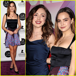 Peyton List & Bailee Madison Step Out in Style For LA Art Show Opening Gala