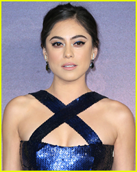 Rosa Salazar Wore a Gorgeous Blue Gown For 'Alita: Battle Angel' World Premiere