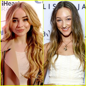 Sabrina Carpenter Gets A Lift To 'Tall Girl' Set From Ava Michelle In Cute Instagram