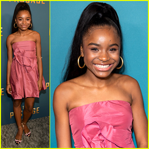 Saniyya Sidney Is Pretty in Pink At 'The Passage' Premiere