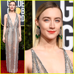 Saoirse Ronan's Golden Globes 2019 Look is Perfect!