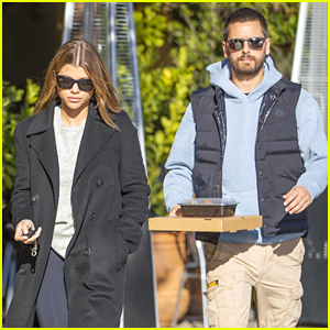 Sofia Richie & Scott Disick Step Out as She Mourns Loss of Dog Jake