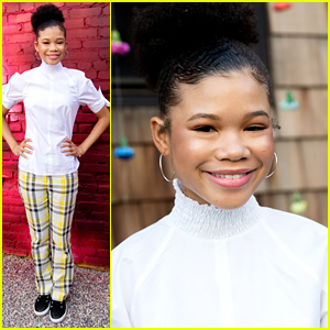 Storm Reid Attends National Day of Racial Healing Event in LA