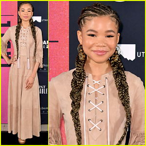 Storm Reid Kicks Off Her First Sundance Film Festival at Artist at the Table Dinner