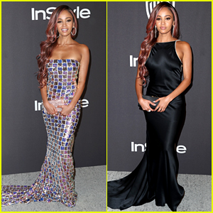 Vanessa Morgan Wears Two Dresses To Golden Globes After Parties & Slays Them Both!