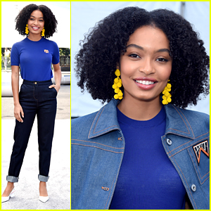 Yara Shahidi Steps Out in Style For SAG Awards Red Carpet Rollout Event