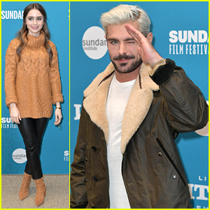 Zac Efron & Lily Collins Premiere New Film 'Extremely Wicked, Shockingly Evil & Vile' at Sundance Film Festival 2019!