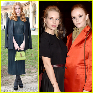 'Sabrina' Star Abigail Cowen Looks Lovely at Ferragamo Show & Dinner in Milan