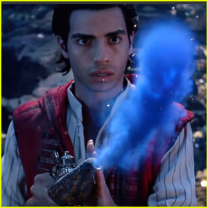 Aladdin Conjures The Genie From The Lamp in New Look at 'Aladdin' Live Action Movie - Watch Now!
