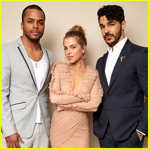 Anne Winters Stuns at 'Grand Hotel' TCA Panel with Chris Warren Jr