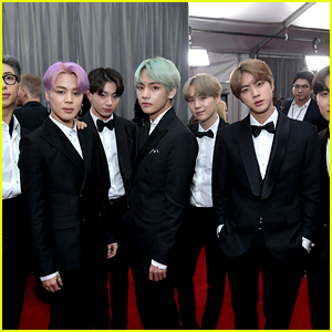 BTS Strike a Pose on the Red Carpet at Grammys 2019