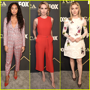 Chandler Kinney, Skyler Samuels & More Step Out For Fox's TCA All-Star Party