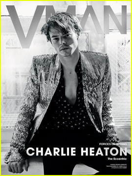 Charlie Heaton Talks 'Stranger Things' Success in 'V Man' Magazine