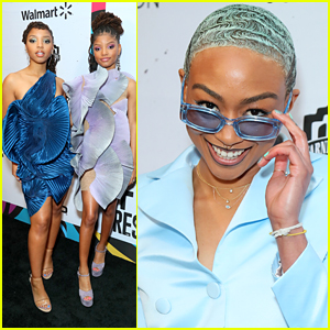 Tati Gabrielle Joins Chloe x Halle at Essence's Black Women in Hollywood Luncheon