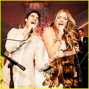 Darren Criss & Mia Swier Share Pics From Their Wedding!