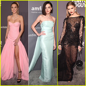 Delilah Belle Hamlin & Charlotte Lawrence Stun at amfAR New York Gala 2019