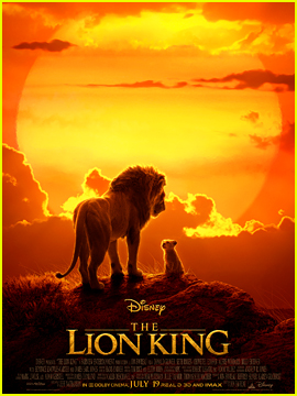 Disney's 'Lion King' Live-Action Film Debuts New Clip & Poster! (Video)