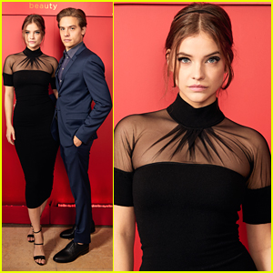 Dylan Sprouse Joins Girlfriend Barbara Palvin at Giorgio Armani Beauty's Oscar Week Party