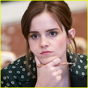 Emma Watson Meets With Human Rights Advocates at G7 Gender Equality Meeting!