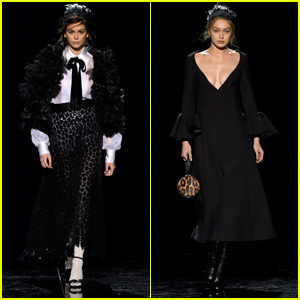 Kaia Gerber & Gigi Hadid Hit the Runway for Marc Jacobs NYFW Show!