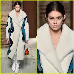 Kaia Gerber Hits Runway for Lanvin Paris Fashion Show!