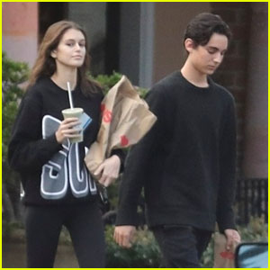 Kaia Gerber Hangs Out With Pal Travis Jackson in Malibu!
