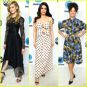 Katherine McNamara & Emeraude Toubia Hit Up Their Final ABC TCA Party For 'Shadowhunters'