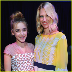 Kiernan Shipka Reunites With 'Mad Men' Co-Star January Jones!