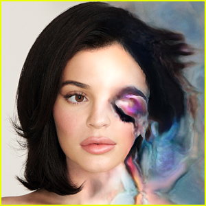 Kylie Jenner Gets Full Digital Makeup Look in 'Dazed' Magazine
