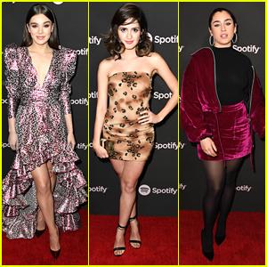 Hailee Steinfeld, Laura Marano, Lauren Jauregui & More Celebrate Best New Artist Nominees at Spotify Event
