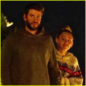 Miley Cyrus & Liam Hemsworth Step Out for Dinner in Malibu!
