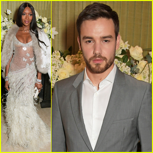 Liam Payne Joins Naomi Campbell at Tiffany & Co's BAFTAs Party!