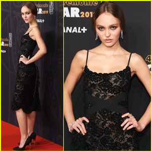 Lily-Rose Depp Steps Out For Cesar Film Awards