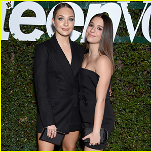 Maddie & Mackenzie Ziegler Are Beauties in Black at Teen Vogue's Young Hollywood Party