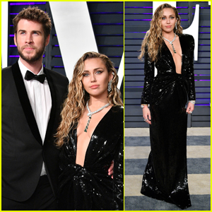Miley Cyrus & Liam Hemsworth Step Out for Oscars 2019 Party!