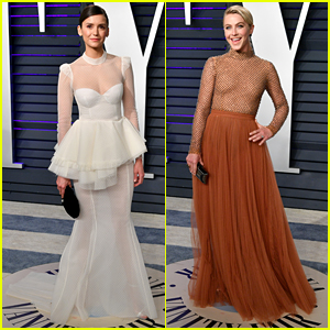 Nina Dobrev & Julianne Hough Team Up at Vanity Fair's Oscars 2019 Party