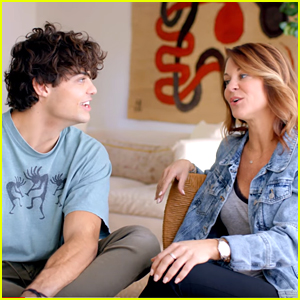 Noah Centineo's Mom Kellee Reveals All Of His Embarrassing Stories To Help Promote His Sunset Hike Contest