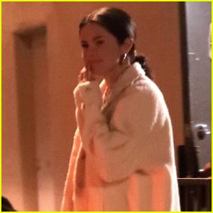 Selena Gomez Heads Home From the Studio!