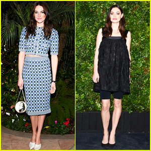 Shailene Woodley & Phoebe Tonkin Strike a Pose at Chanel Oscars Pre-Party!