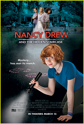 See Sophia Lillis On the 'Nancy Drew & The Hidden Staircase' Movie Poster (Exclusive)