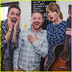 Taylor Swift Sings 'King of My Heart' for Newly Engaged Fans! (Video)