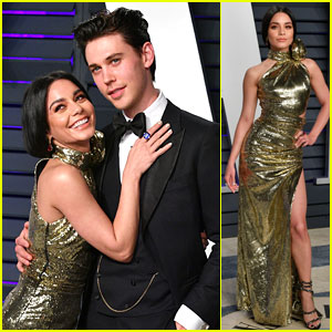 Vanessa Hudgens Looks So Happy with Austin Butler at Oscars 2019 After Party!