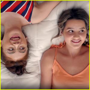 Annie LeBlanc & Anna Cathcart Debut 'Spring Breakaway' - Watch Now!