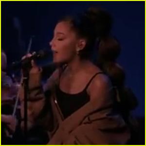 Ariana Grande Sings 'Needy' at iHeartRadio Music Awards 2019!