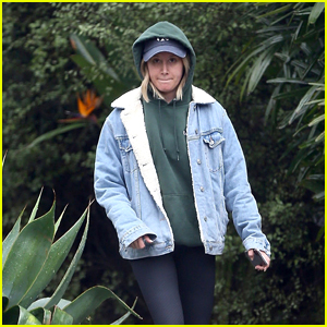 Ashley Tisdale Gets in Some Retail Therapy on a Rainy Day!