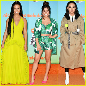 Asia Monet Ray, Madisyn Shipman, & Breanna Yde Light Up Kids' Choice Awards 2019 Carpet
